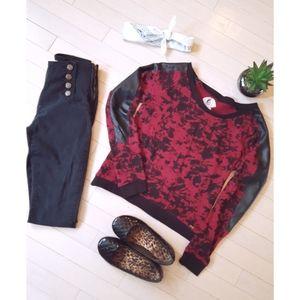 Volcom | Splattered Print Sweater